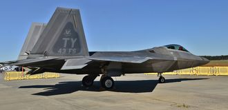 Air Force F-22 Raptor Royalty Free Stock Photography