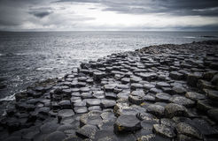 Moody Giant's Causeway Stock Image