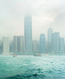 Moody Hong Kong Stock Image