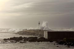 Moody lighthouse Royalty Free Stock Photography