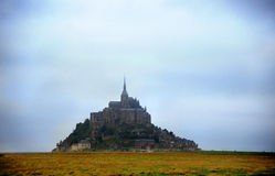 Moody Mt. St. Michel Stock Image