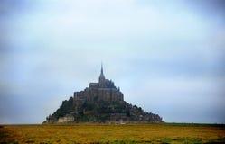Moody Mt. St. Michel Stock Image