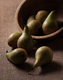 Moody Pears Royalty Free Stock Photos