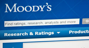 Moody's ratings Royalty Free Stock Image