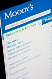 Moody's ratings stock images