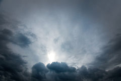 Moody sky Stock Photography