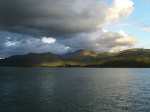 Moody Sky Barmouth Harbour Royalty Free Stock Photo