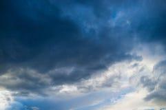 Moody sky full frame Stock Image