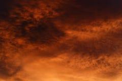 Moody sky Royalty Free Stock Photography