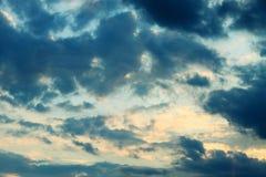 Moody stormy sky Stock Image