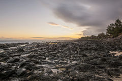 Moody sunset Stock Photo