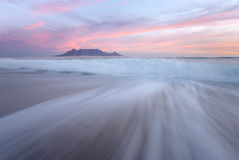 Moody Table Mountain Royalty Free Stock Photo