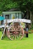 Moody Tree Farm. Antique sign at Moody Tree Farm, located near Saranac Lake, New York Stock Image