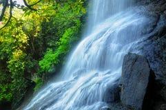 Moody Waterfall stock image