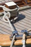 mooered fartyg Royaltyfri Bild