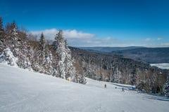 Mooi aard en landschap rond de toevlucht van de sneeuwschoenski in cass royalty-vrije stock fotografie
