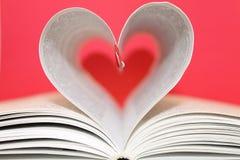 Mooi abstract hart Stock Afbeelding