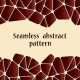 Mooi abstract naadloos patroon Royalty-vrije Stock Foto's