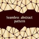 Mooi abstract naadloos patroon Royalty-vrije Stock Afbeeldingen