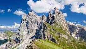 Mooi alpien berglandschap Stock Foto