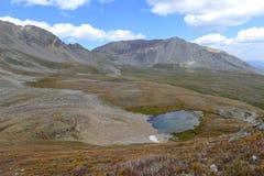 Mooi Alpien landschap in Rocky Mountains, Colorado waar vele 13ers en 14ers worden gevestigd Stock Afbeeldingen