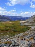 Mooi Alpien landschap in Rocky Mountains, Colorado waar vele 13ers en 14ers worden gevestigd Royalty-vrije Stock Foto's