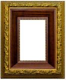 Mooi antiquiteit gesneden frame royalty-vrije stock afbeeldingen