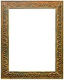 Mooi antiquiteit gesneden frame stock afbeeldingen