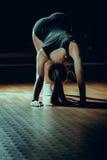 Mooi atletisch meisje Royalty-vrije Stock Afbeeldingen