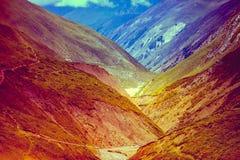 Mooi Aziatisch landschap stock afbeelding