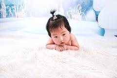 Mooi babymeisje Stock Foto
