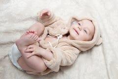 Mooi babymeisje Stock Afbeeldingen