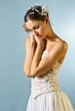 Mooi balletdanserportret royalty-vrije stock foto