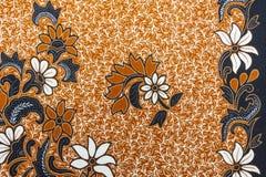 Mooi Batikpatroon Royalty-vrije Stock Foto