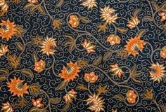 Mooi Batikpatroon Royalty-vrije Stock Afbeelding