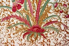 Mooi Batikpatroon Royalty-vrije Stock Foto's