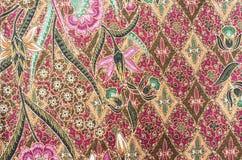 Mooi Batikpatroon Stock Afbeelding