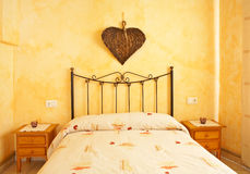 Mooi bed royalty-vrije stock foto