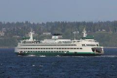 Mooi beeld van MV Puyallup die aan Edmonds varen royalty-vrije stock foto