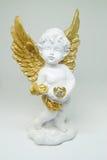 Mooi beeldje in de vorm van een engel royalty-vrije stock afbeelding
