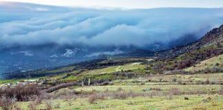 Mooi berglandschap stock foto