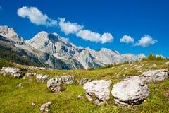 Mooi berglandschap. Stock Fotografie