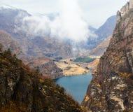 Mooi berglandschap Stock Afbeelding