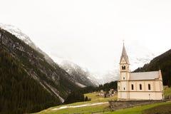 Mooi berglandschap in de Alpen met verse groene weiden in bloei op een mooie zonnige dag in de lente Dolomiti montains stock fotografie