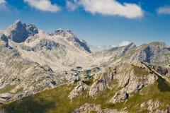 Mooi berglandschap. Montenegro stock foto's