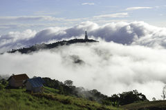 Mooi berglandschap in Phutabberk Phetchabun, Thailand Stock Fotografie