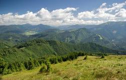 Mooi berglandschap, Slowakije Stock Afbeelding