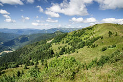 Mooi berglandschap, Slowakije Stock Fotografie