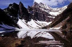 Mooi bergmeer Royalty-vrije Stock Afbeelding