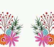 Mooi bloemenframe Royalty-vrije Stock Foto
